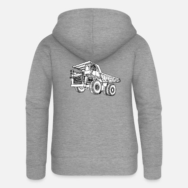 Vehicle vehicle - Women's Premium Zip Hoodie