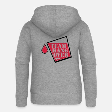 Fun team hangover - Women's Premium Zip Hoodie