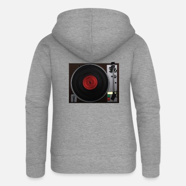 Turntable turntable - Women's Premium Zip Hoodie