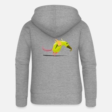 Bird Illustration Bird / bird illustration - Women's Premium Zip Hoodie