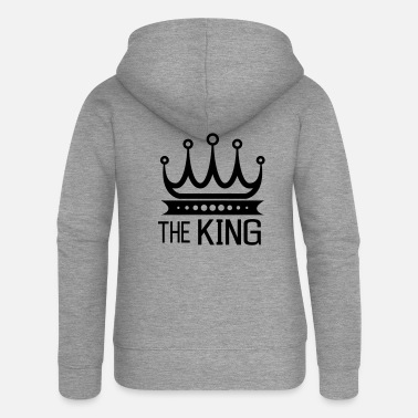 The King - Women's Premium Zip Hoodie