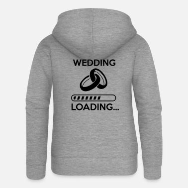 Stag Do wedding loading - Stag do - hen party - Women's Premium Zip Hoodie