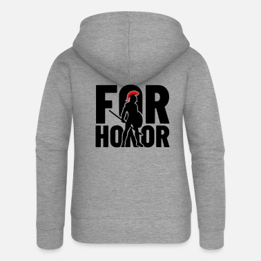 Honor for honor - for the honor - Women's Premium Zip Hoodie