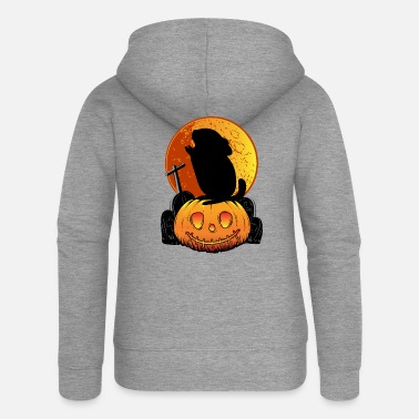 Chinchilla Holder Chinchillas Halloween | Gift chinchilla holder - Women's Premium Zip Hoodie