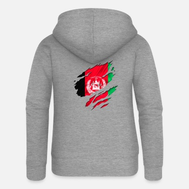 Designs Guinea Visit Wear Logo Nation With African afghanistan army peace - Women's Premium Zip Hoodie