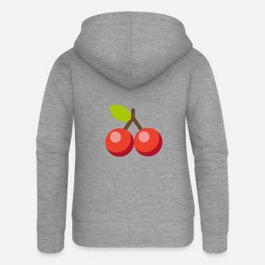 Cherry Cherry cherries - Women's Premium Zip Hoodie