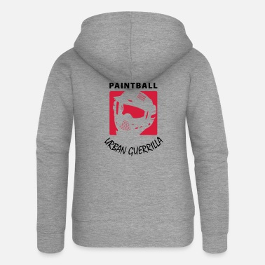 Paintball PAINTBALL - Frauen Premium Kapuzenjacke
