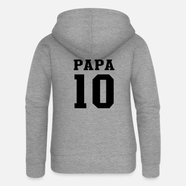 Papa 2010 PAPA 2010 Football - Women's Premium Zip Hoodie