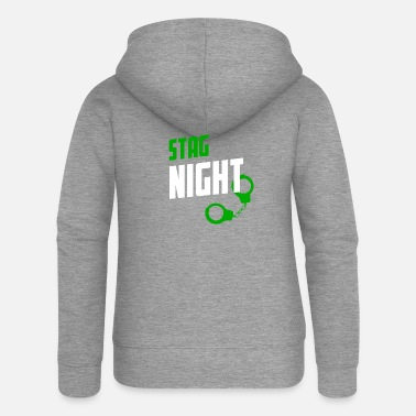 Stag Night Stag Night STAG DO - Women's Premium Zip Hoodie