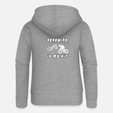 Headwind Headwind is my HIT - Headwind is my HIT - Women's Premium Zip Hoodie