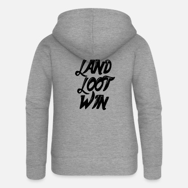 Clan land loot win - Women's Premium Zip Hoodie