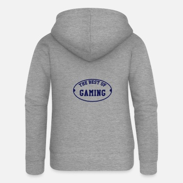 The best of Gaming - Women's Premium Zip Hoodie