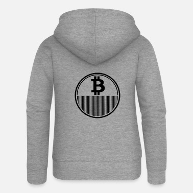 Pay Bitcoin design - Women's Premium Zip Hoodie