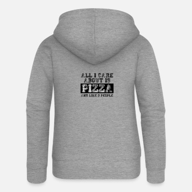 All I care about is... - Women's Premium Zip Hoodie