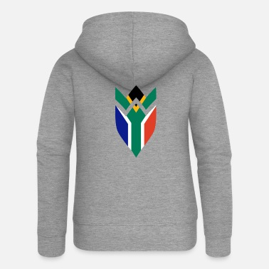South Africa South Africa coat of arms - Women's Premium Zip Hoodie