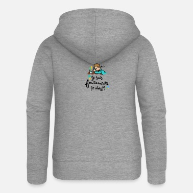 Official-person Official! - Women's Premium Zip Hoodie