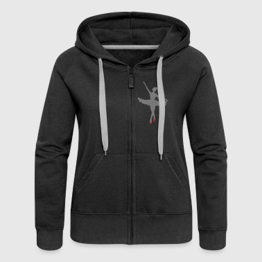 Ballet Dancer Ballet dancer - Women's Premium Hooded Jacket