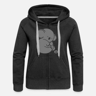 Koala Koala - Women's Premium Hooded Jacket