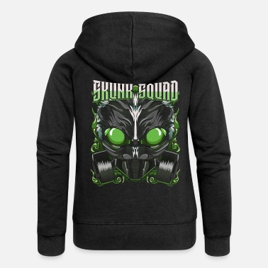 Skunk skunk - Women's Premium Hooded Jacket