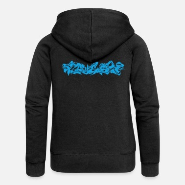 Graffiti Fresh graffiti - Women's Premium Zip Hoodie
