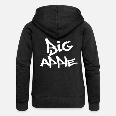 Big Apple Big Apple - Women's Premium Zip Hoodie