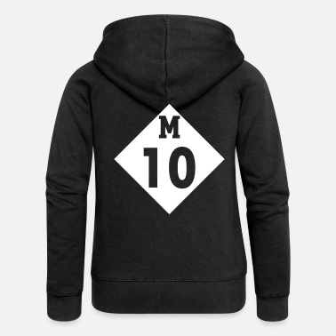 Detroit We On The Lodge Wit It - M10 Detroit Freeway Drift - Frauen Premium Kapuzenjacke