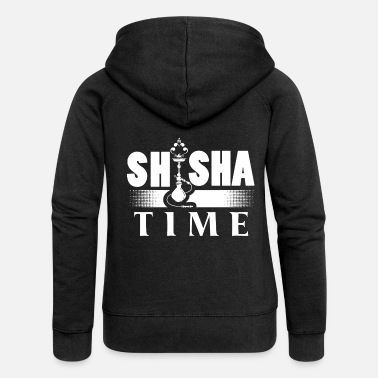 Trendy hookah time T-shirt hookah shirt - Women's Premium Zip Hoodie