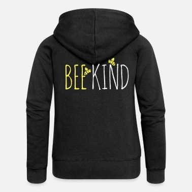 Honey Bee Bee beekeeper honey - Women's Premium Zip Hoodie