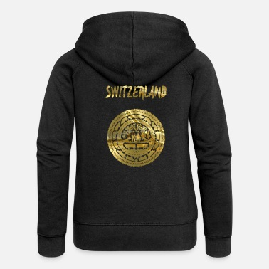 Switzerland switzerland - Women's Premium Zip Hoodie