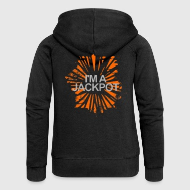 I am a jackpot gift - Women's Premium Hooded Jacket