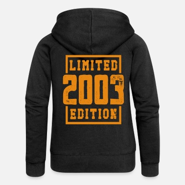 limited EDITION 2003 - Women's Premium Zip Hoodie