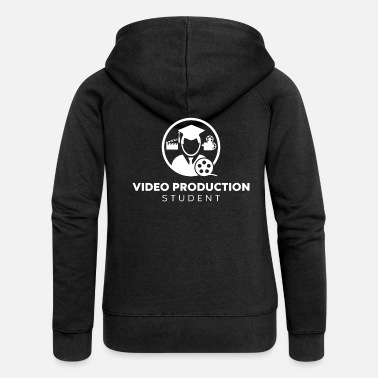 Production Year Video Production Student - Women's Premium Zip Hoodie