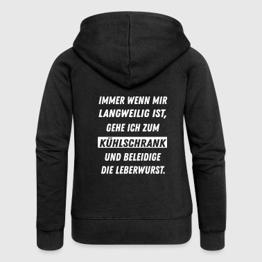 Insulted liverwurst - Women's Premium Hooded Jacket