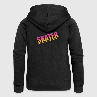 Skater - Women's Premium Hooded Jacket