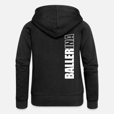 Ballerina ballerina - Women's Premium Hooded Jacket