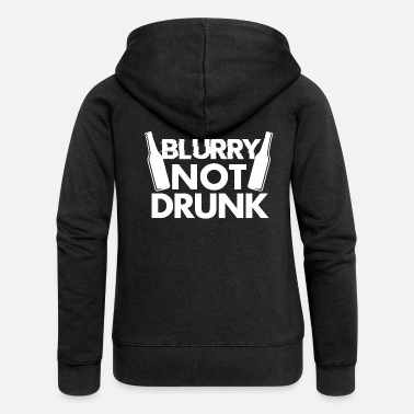 Belly Beer drunk alcohol - Women's Premium Zip Hoodie