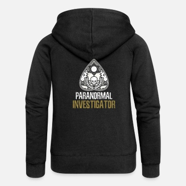 Paranormal Halloween Paranormal Investigator Halloween Gift - Women's Premium Hooded Jacket