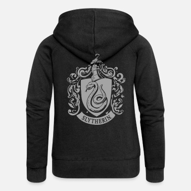 Harry Potter Slytherin Wappen - Frauen Premium Kapuzenjacke