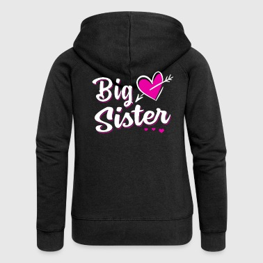 Big Sister Big Sister - Big sister - Women's Premium Hooded Jacket