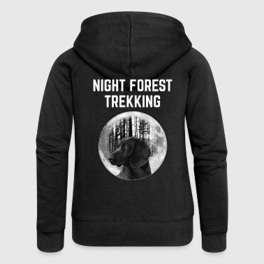 Night trekking - Women's Premium Hooded Jacket
