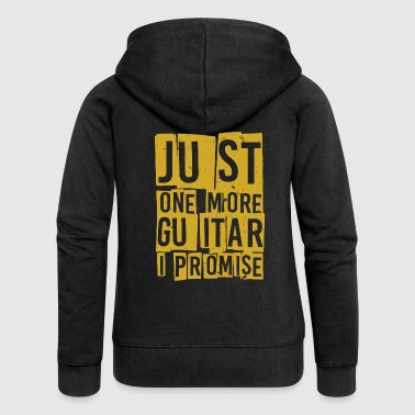 One Piece Just One More Guitare I Promise TShirt - Veste à capuche Premium Femme