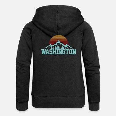 Washington Washington - Frauen Premium Kapuzenjacke