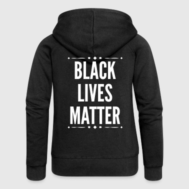 Black Lives Matter Slogan. Human Rights.Motivation - Women's Premium Hooded Jacket