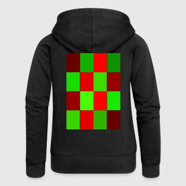 rectangles - Women's Premium Hooded Jacket
