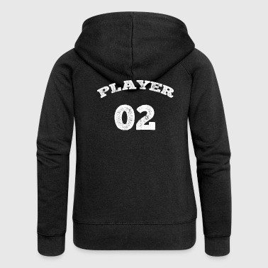 02 TRICOT jersey number 2 player gifts shirts - Women's Premium Hooded Jacket