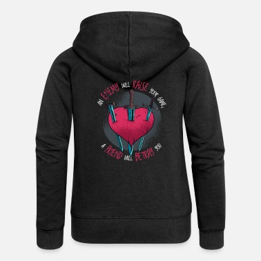 Request Betrayal Quote Request / Request for Quote for ... - Women's Premium Zip Hoodie