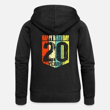 20th Birthday 20th birthday - Women's Premium Zip Hoodie