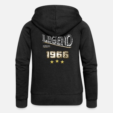 Legendarisk Legenden sedan 1966 / legend sedan 1966 / legend - Premium zip hoodie dam