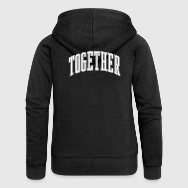 Together - Women's Premium Hooded Jacket