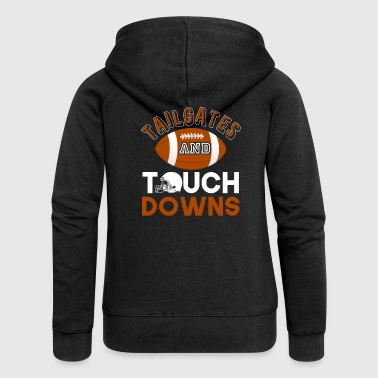 Tailgates And Touchdowns - Women's Premium Hooded Jacket